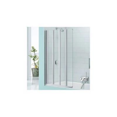 Merlyn Secureseal 800mm x 1500mm 4 Fold Bath Screen