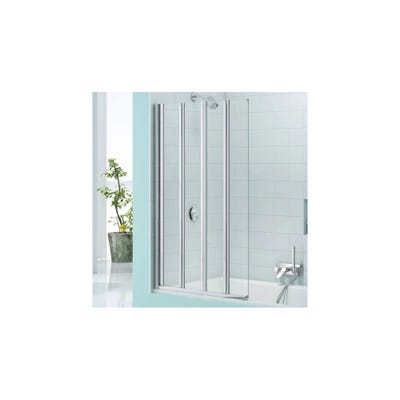 Merlyn Secureseal 800mm x 1500mm 4 Fold Bath screen