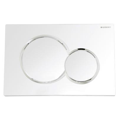 Geberit 115.770.21.5 Sigma01 Flush Plate Gloss Chrome