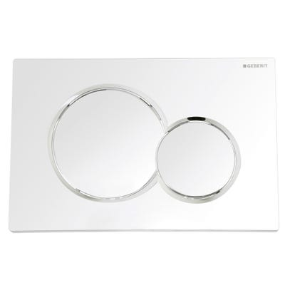 Geberit 115.770.21.5 Sigma01 Flush Plate Gloss Chrome