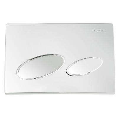 Geberit 115.228.21.1 Kappa20 Flush Plate Gloss Chrome