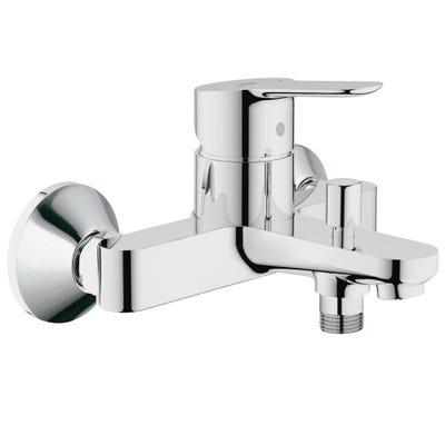 Grohe Bauedge Single Lever Bath Shower Mixer Tap Chrome