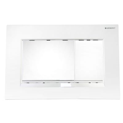 Geberit 115.883.KH.1 Sigma30 Dual Flush Plate Gloss Chrome/Matte