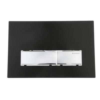 Geberit 115.788.DW.5 Sigma50 Dual Flush Plate Black