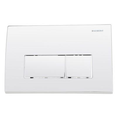 Geberit 115.260.21.1 Kappa50 Dual Flush Plate Gloss Chrome