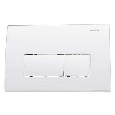 Geberit 115.260.21.1 Kappa50 Dual Flush Plate Gloss Chrome