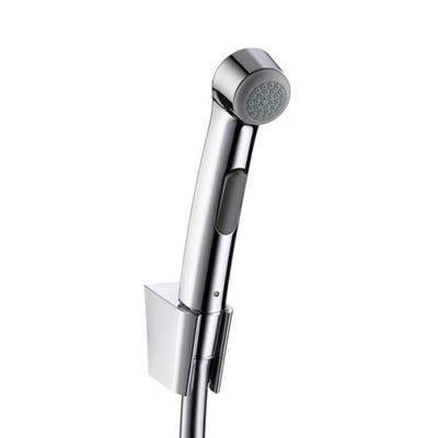 hansgrohe Bidet 1.25m 1Jet Porter 'S' Shower Holder Set & Hose Chrome