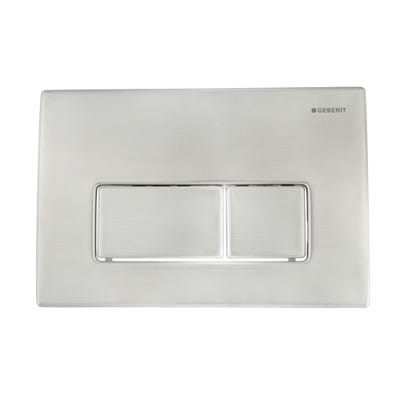 Geberit 115.258.00.1 Kappa50 Flush Plate Stainless Steel