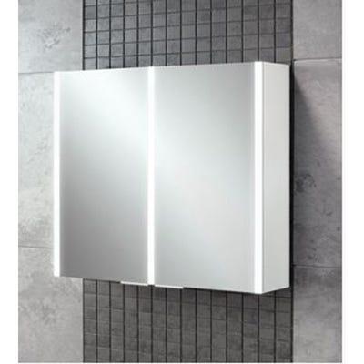 HIB Xenon 80 LED Mirror Cabinet