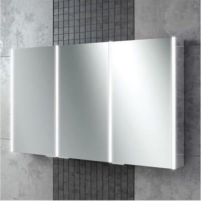 HIB Xenon 120 LED Mirror Cabinet
