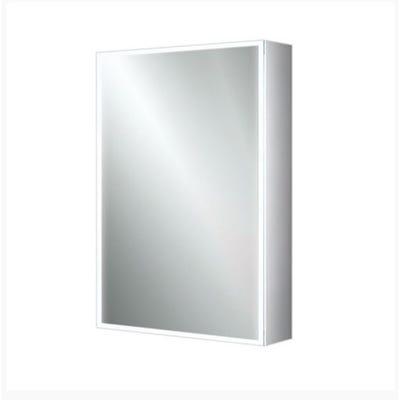 HIB Qubic 50 LED Mirror Cabinet