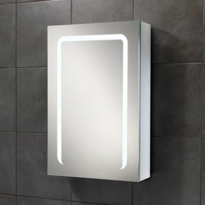 HIB Stratus 50 LED Mirror Cabinet