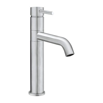 Crosswater Cucina Design Single Lever Kitchen Sink Tap Stainless Steel