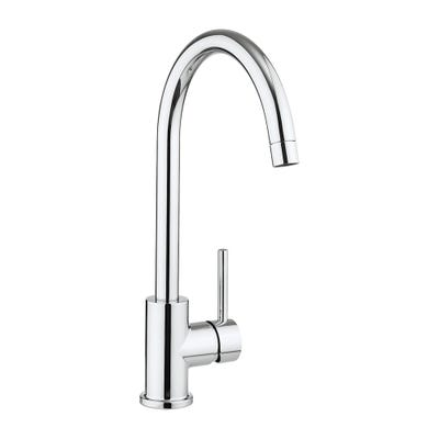Crosswater Cucina Tropic Side Lever Kitchen Sink Tap Chrome