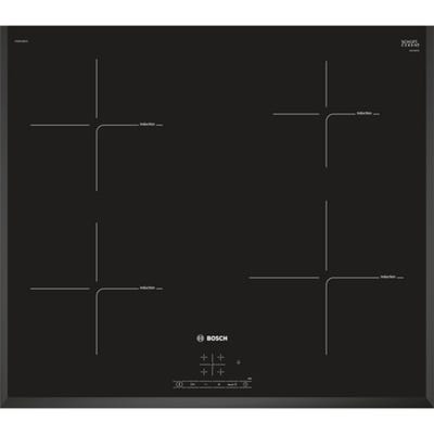 Bosch PIE651BB1E Serie 4 60cm 4 Zone Induction Hob