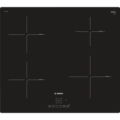 Bosch PUE611BB1E Serie 4 60cm 4 Zone Induction Hob Frameless