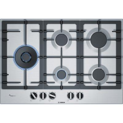 Bosch PCS7A5B90 Serie 6 75cm 5 Burner Gas Integrated Hob
