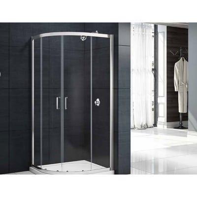 Merlyn Mbox 900mm x 900mm 2 Door Shower Quadrant
