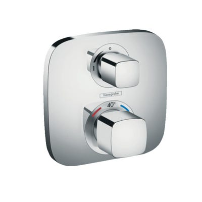 hansgrohe Ecostat E Thermostatic Concealed Mixer 1 Outlet