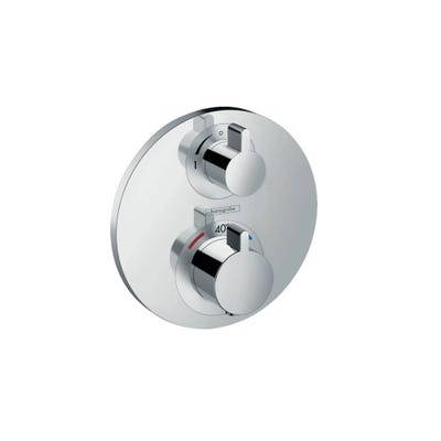 hansgrohe Ecostat S Thermostatic Concealed Mixer 2 Outlet
