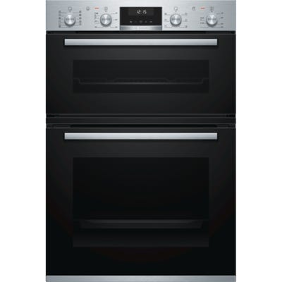 Bosch MBA5575S0B Serie 6 Built In Double Multifunction Oven