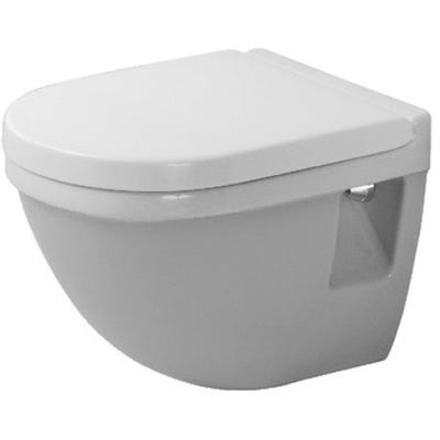 Duravit Starck 3 Wall Mounted Compact Toilet