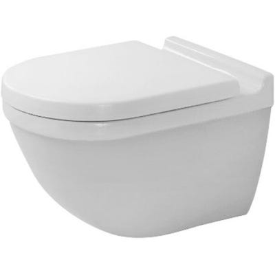 Duravit Starck 3 Wall Mounted Toilet With Durafix