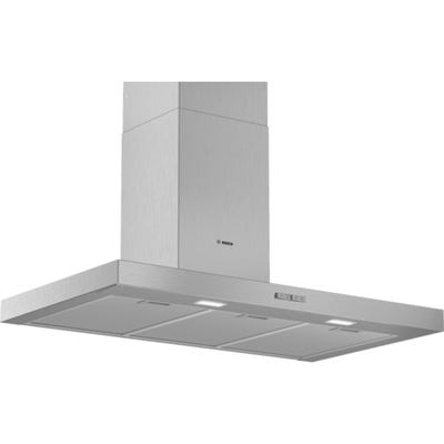 Bosch DWB94BC50B Serie 2 Box Design Chimney Extractor Hood Brushed Steel
