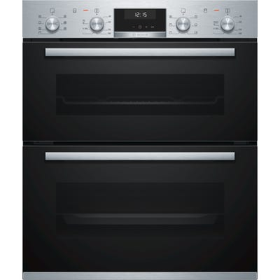 Bosch NBA5350S0B Serie 6 Built In Double Oven