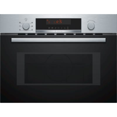 Bosch CMA583MS0B Serie 4 Built In Microwave Oven Brushed Steel