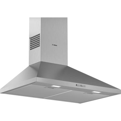 Bosch DWP74BC50B Serie 2 Pyramid Chimney Extractor Hood Brushed Steel