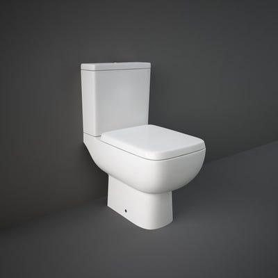 Rak Series 600 Close Coupled Toilet Set White