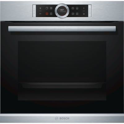 Bosch HRG635BS1B Serie 8 Single Oven 13 Function