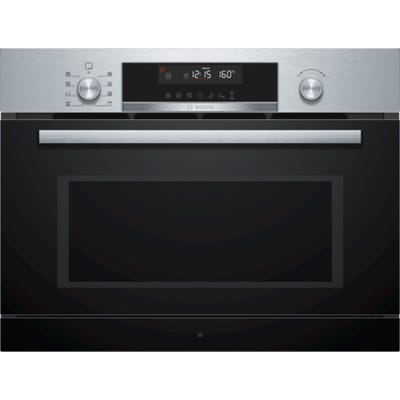 Bosch CPA565GS0B Serie 6 Built In Microwave Combination Oven