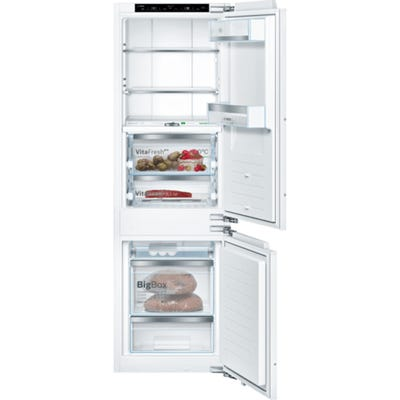 Bosch KIF86PF30 Serie 8 No Frost Built In Fridge Freezer 70/30