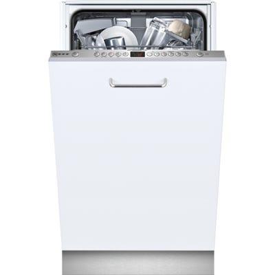 Neff S583C50X0G N50 45cm Slimline Fully Integrated Dishwasher 9.5L