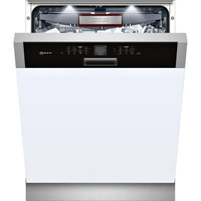 Neff S416T80S0G N70 60cm Semi Integrated Dishwasher 9.5L