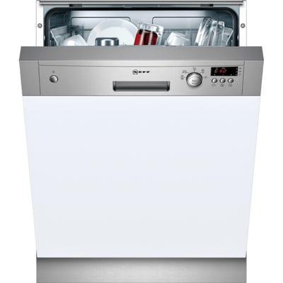 Neff S41E50N1GB N30 60cm Semi Integrated Dishwasher 9.5L