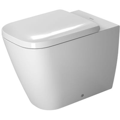 Duravit Happy D.2 Back To Wall Toilet White 355 x 400 x 570mm