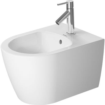 Duravit Me By Starck Compact Wall Mounted Bidet 360 x 400 x 480mm