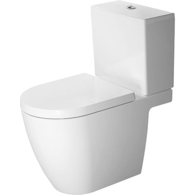 Duravit Me By Starck Open Back Toilet Close Coupled 360 x 400 x 650mm
