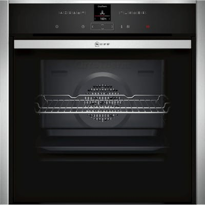 Neff B57CR22N0B N70 Built-In Slide & Hide Single Pyrolytic Oven