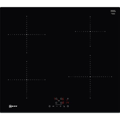 Neff T36FB40X0 N50 60cm 4 Zone Induction Hob Black Glass