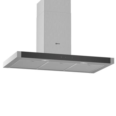 Neff D94BHM1N0B N50 90cm Touch Control Box Design Chimney Hood Stainless Steel