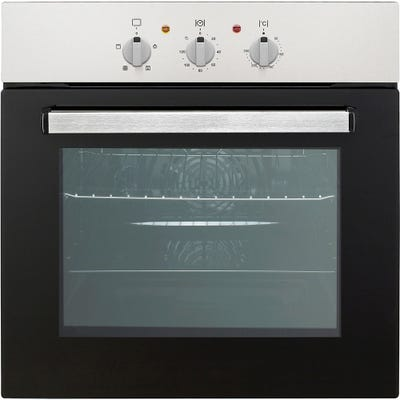 Culina 60cm Built In Electric Oven Minute Minder Stainless Steel