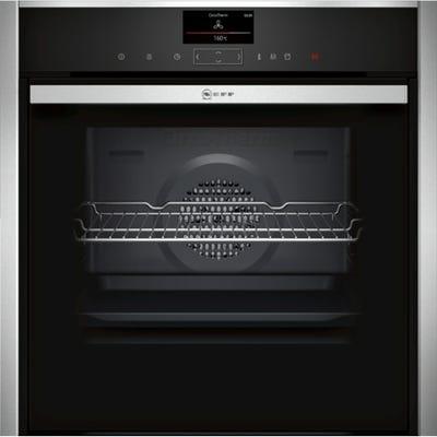 Neff B47VS34H0B N90 Slide & Hide Built-In Single Oven