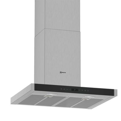 Neff D65BMP5N0B N70 60cm Box Design Chimney Hood Touch Control Stainless Steel
