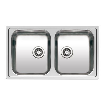 Reginox Centurio L 20 Inset or Undermount Sink Polished Inox