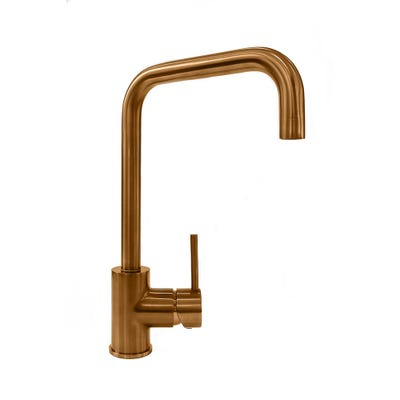Reginox Acri Single Lever Kitchen Mixer Copper