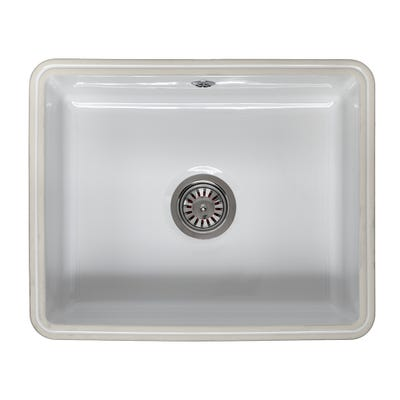 Reginox Mataro 1.0 Bowl Undermount Ceramic Sink